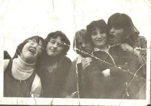 Denise, Alison & 2nd from right Claire Veronica Petty younger sister of Guy Petty