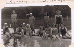 1950 Swimmers