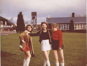 1980 Left Katleen Robinson Right Jackie Hearn