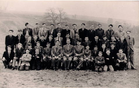 TYNE Dorm1955 Back Row: Findlay,Wilson,Day,Pollard,Temple,McGregor,Connolly