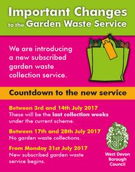 Pooster Important Changes to Garden Waste