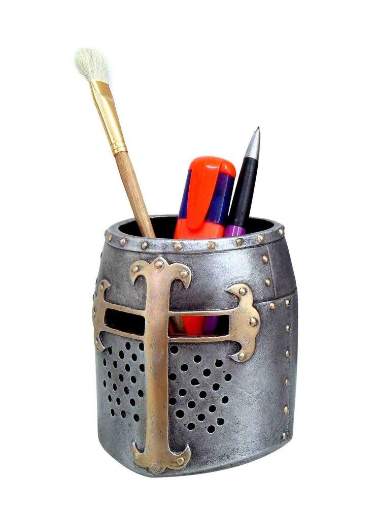 Crusader Pen Pot