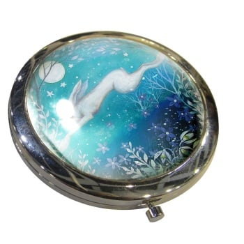 Moonlight Compact Mirror By Amanda Clark