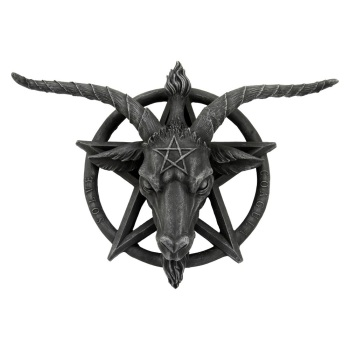 Baphomet Wall Plaque