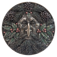 Winter Solstice Wall Plaque