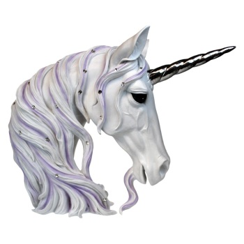 Jewelled Magnificence - Unicorn Bust 31cm