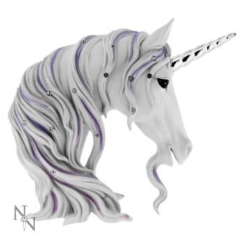 Jewelled Magnificence - Unicorn Bust 15cm
