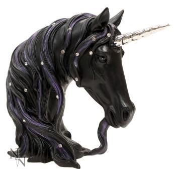 Jewelled Midnight - Unicorn Bust 15cm