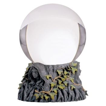 Crystal Ball with Maiden, Mother & Crone Stand