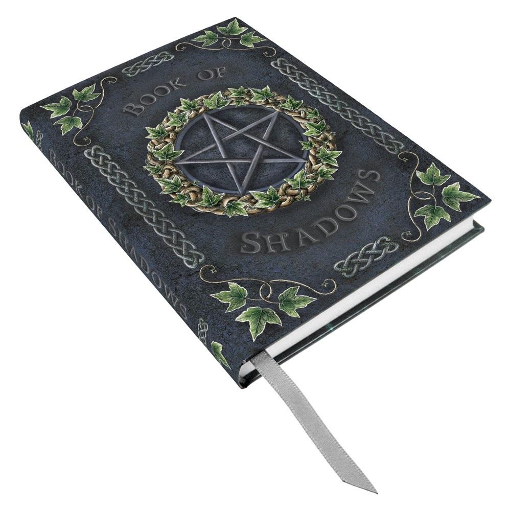 Ivy Pentagram Embossed Book of Shadows