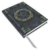Embossed Book of Shadows - Ivy Pentagram
