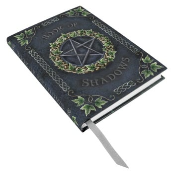Embossed Book of Shadows - Ivy Pentagram