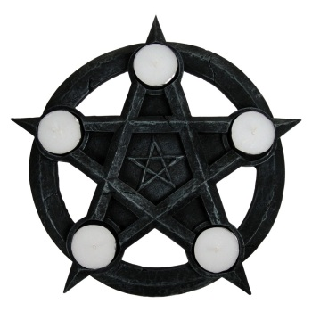 Pentagram Tealight Holder