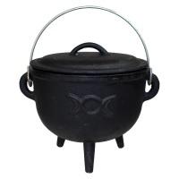 Triple Moon Cauldron Large 18cm