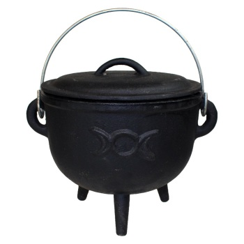 Triple Moon Cauldron Large 18cm