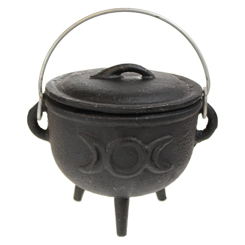 Triple Moon Cauldron Small 11cm