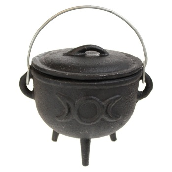 Triple Moon Cauldron Small 11cm