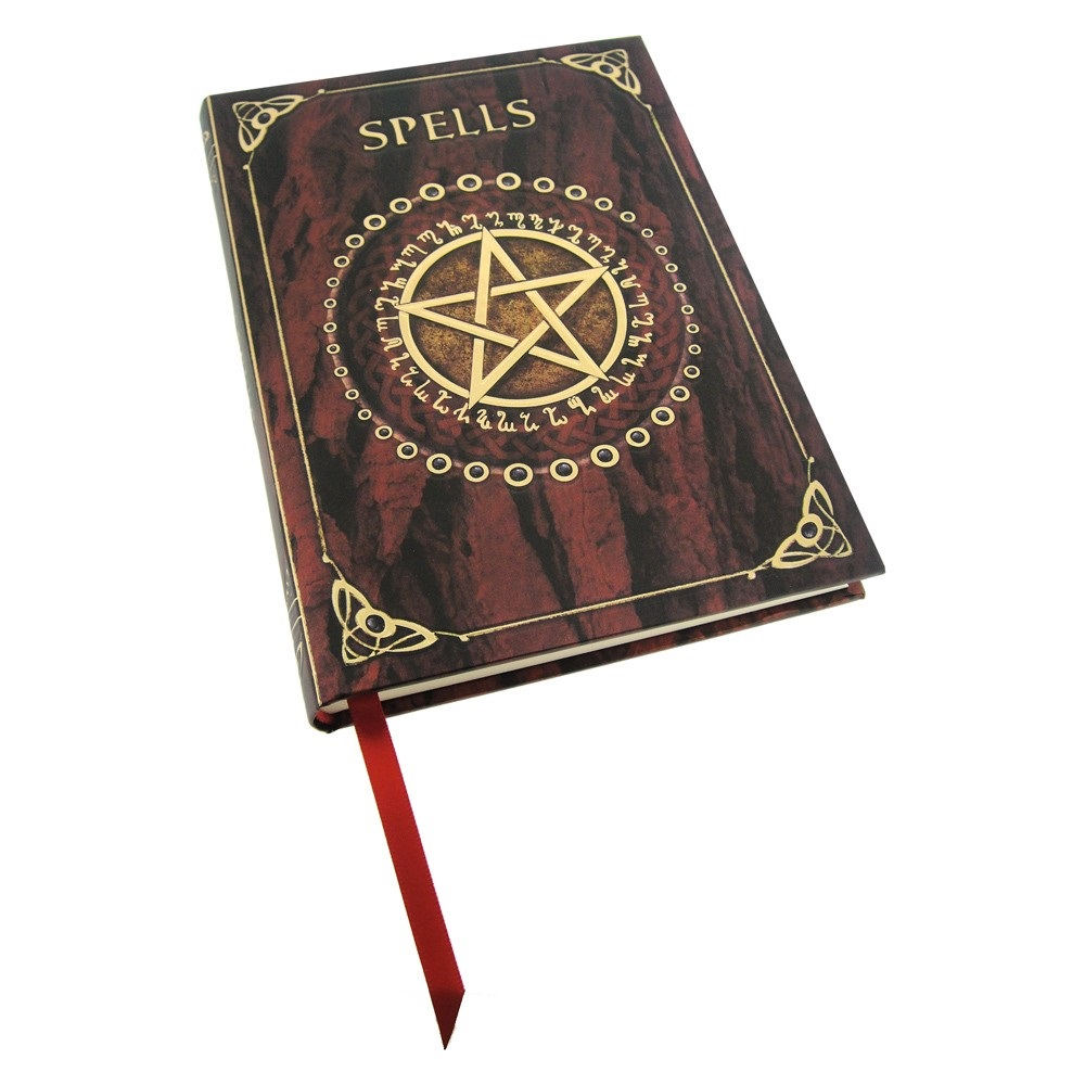 Embossed Spell Book (Red) By Luna Lakota