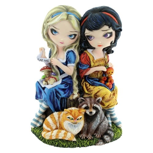 Alice & Snow White By Jasmine Becket-Griffith