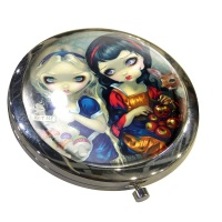 Alice & Snow White Compact Mirror By Jasmine Becket-Griffith
