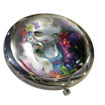 Flora Compact Mirror By Jasmine Becket-Griffith