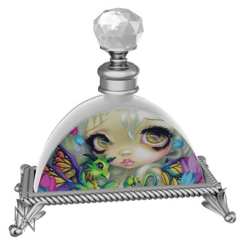 Darling Dragonling Glass Perfume Bottle By Jasmine Becket-Griffith