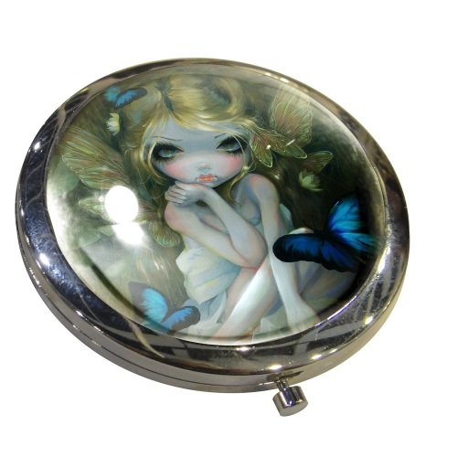 Lily Compact Mirror By Jasmine Becket-Griffith