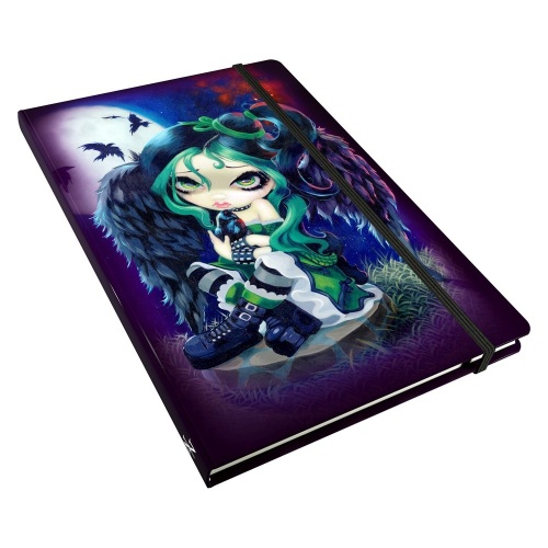 Perched & Sat & Nothing More Journal By Jasmine Becket-Griffith