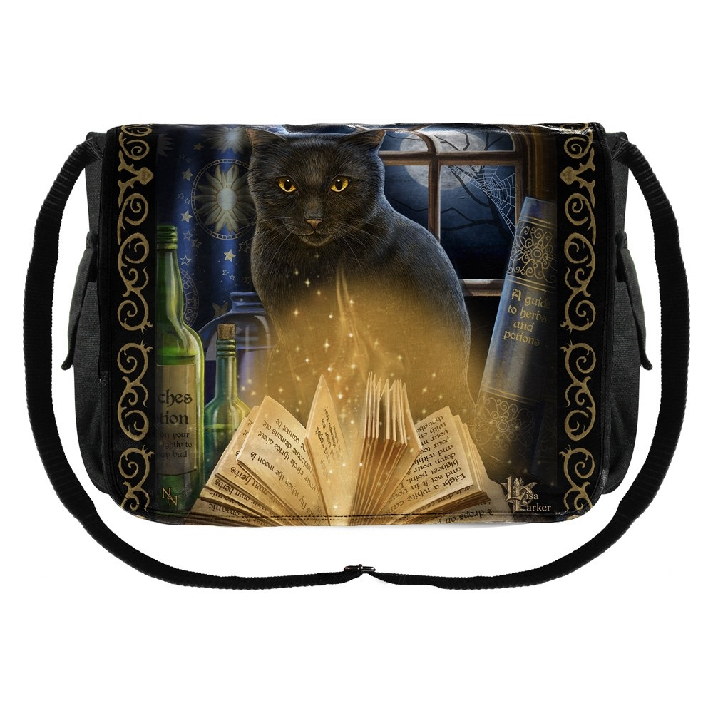 Bewitched Messenger Bag By Lisa Parker