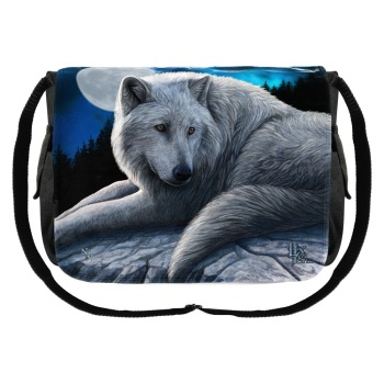 Guardian of the North Messenger Bag By Lisa Parker