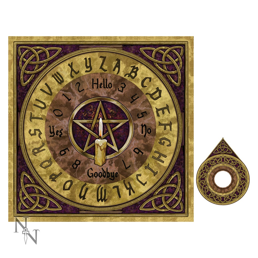 Pentagram Spirit Board By Lisa Parker