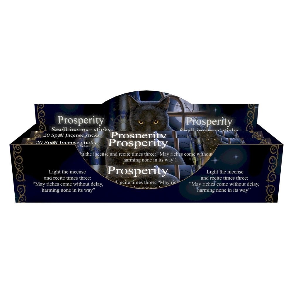 Bewitched - Jasmine Prosperity Spell Incense Sticks By Lisa Parker