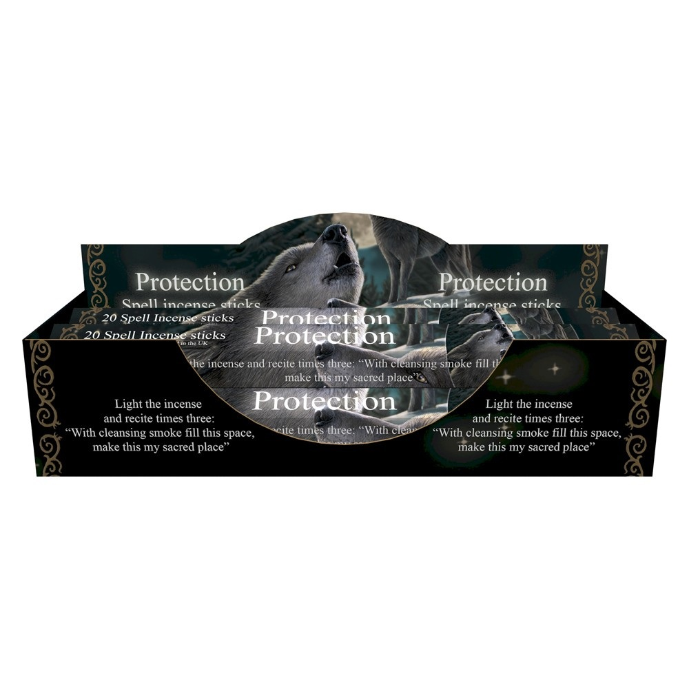 Wolf Song - Protection Spell Lavender Incense Sticks By Lisa Parker