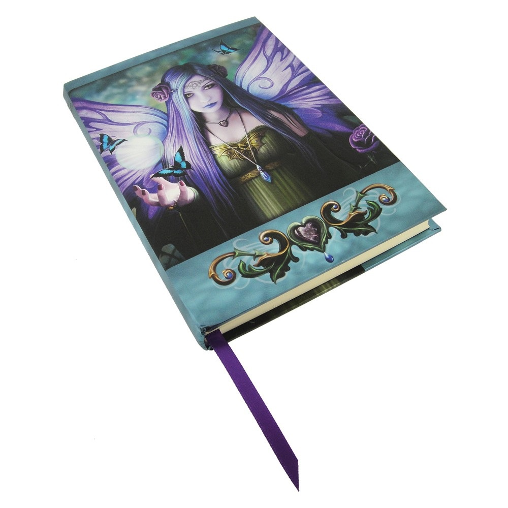 Mystic Aura Embossed Journal By Anne Stokes