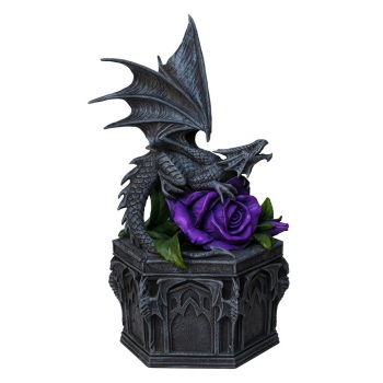Dragon Beauty Trinket Box By Anne Stokes