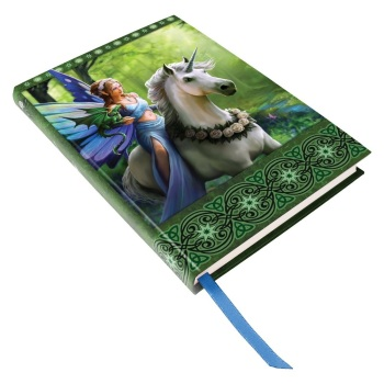 Realm Of Enchantment - Fairy & Unicorn Embossed Journal By Anne Stokes