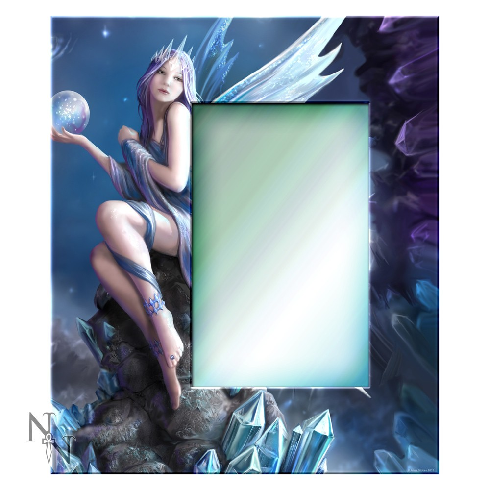 Stargazer Glass Mirror By Anne Stokes