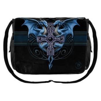 Dragon Duo Messenger Bag By Anne Stokes