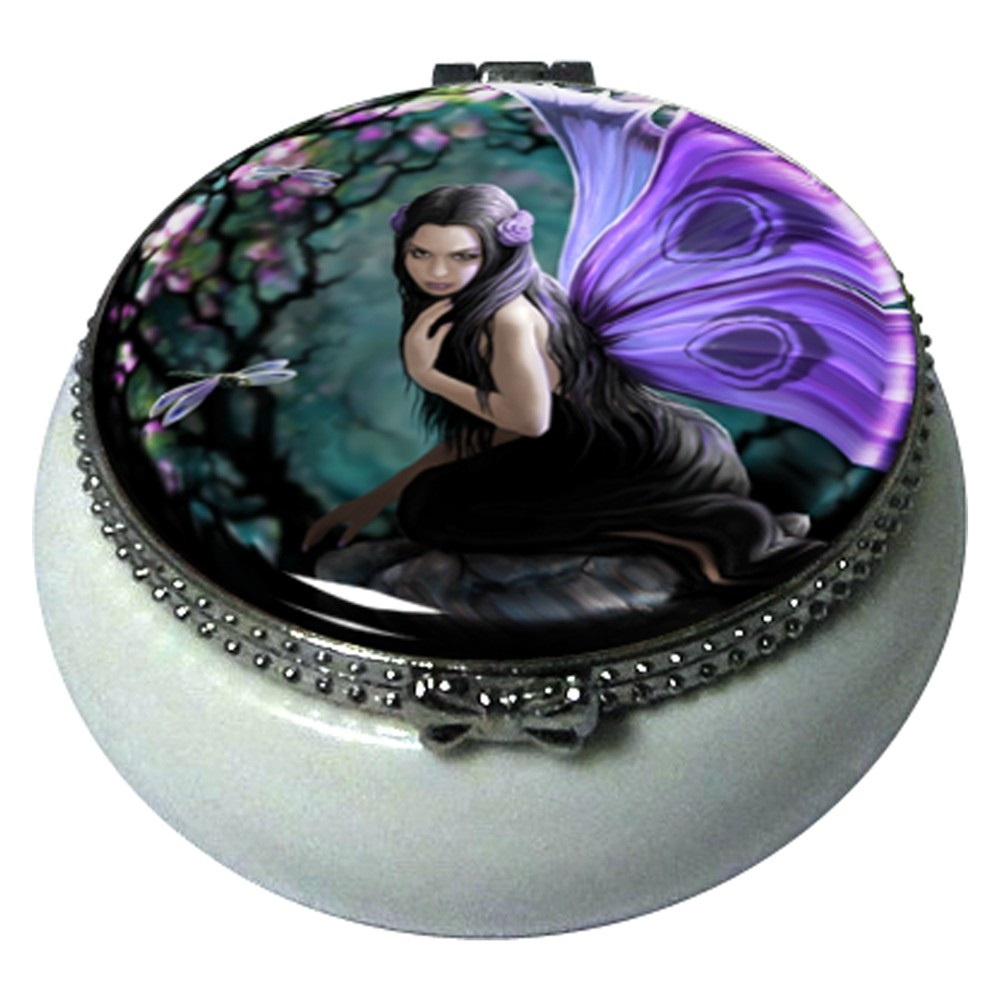 Naiad Trinket Box By Anne Stokes