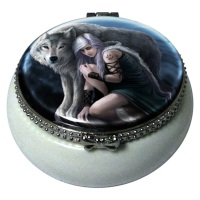 Protector Trinket Box By Anne Stokes