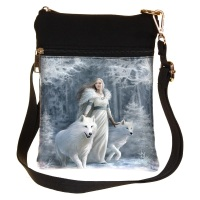 Winter Guardians Shoulder Bag By Anne Stokes