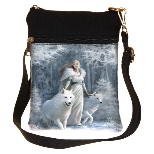 Winter Guardians Shoulder Bag By Anne Stokes