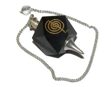Black Agate Cho Ku Kei Pendulum