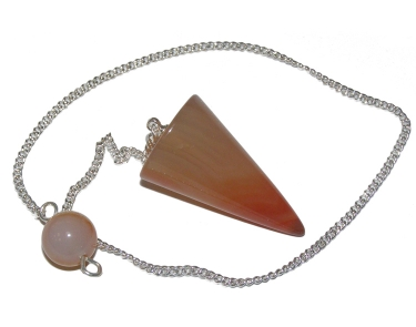 Carnelian Cone Dowsing Pendulum