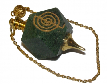 Cho Ku Kei (Reiki) Dowsing Pendulum - Gold