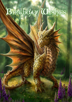 Friendly Dragon By Anne Stokes