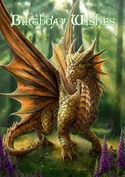 Friendly Dragon By Anne Stokes