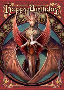 Copperwing By Anne Stokes