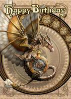 Clockwork Dragon By Anne Stokes