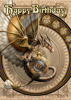 Clockwork Dragon By Anne Stokes
